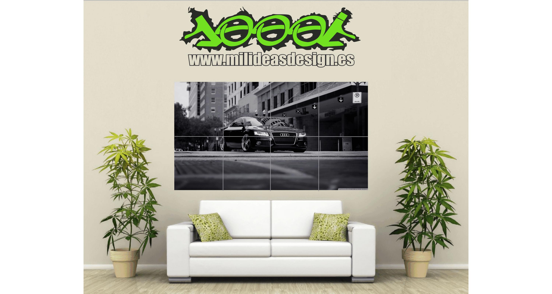 Poster de Pared Gigante Audi R8