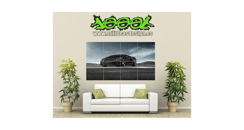 Poster de pared coche galladardo mil ideas rotulacion s l - Posters para pared ...