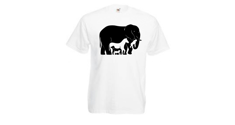 Camiseta Efecto Optico ¿Burro o Foca?