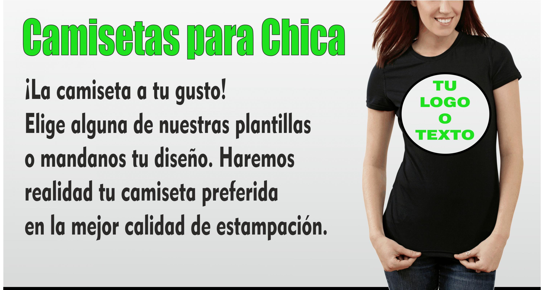 Camisetas de Chica